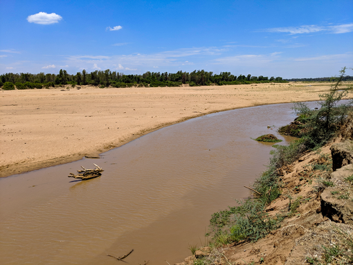 The Limpopo River at Crook's Corner