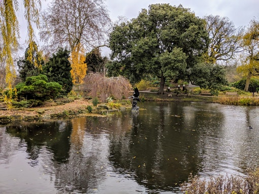 Regents Park - Boating Lake